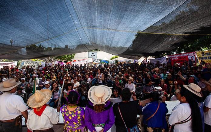 Congreso Nacional Indígena delinea estrategia contra megaproyectos - Pie de  Página