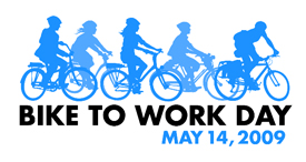 Click to learn more about commuting by bicycle.