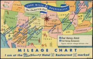 Fred Harvey Post Card