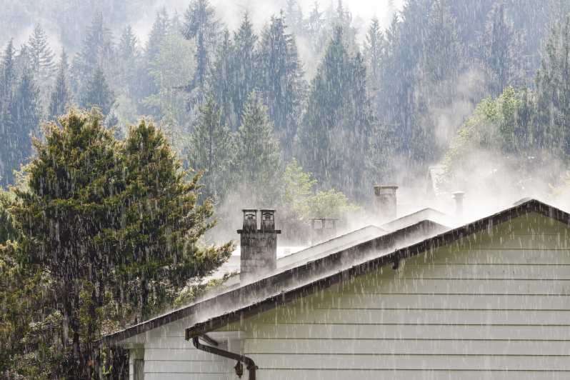 How To Avoid Roof Leaks In Heavy Rain Piedmont Roofing