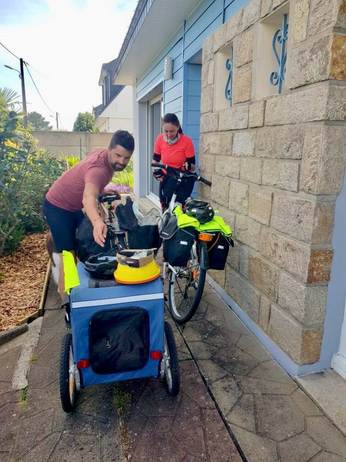 préparation voyage vélo