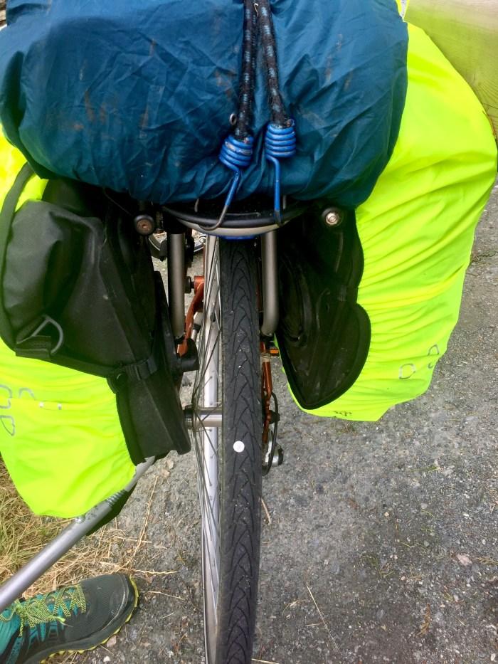punaise roue vélo vélodyssée