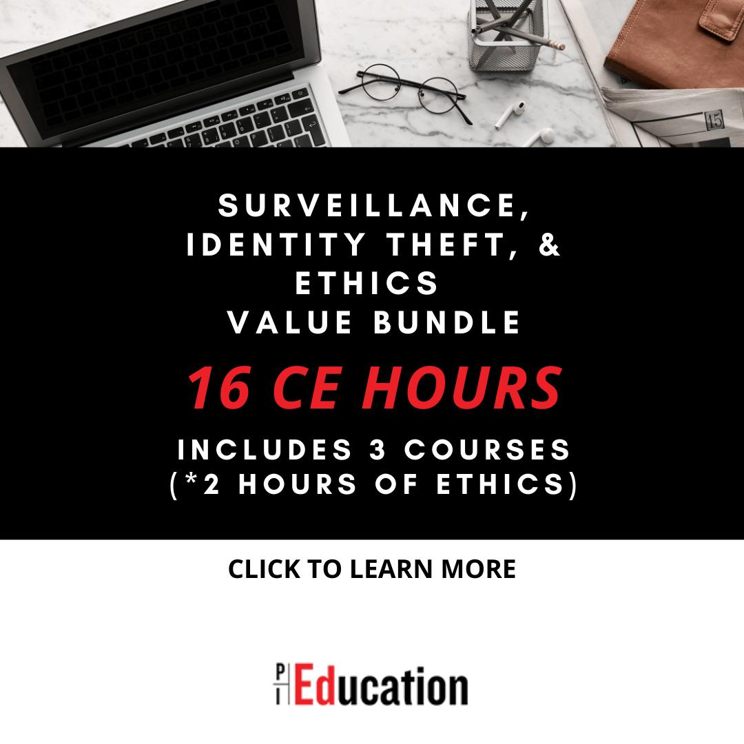 Surveillance Identity Theft Amp Ethics 16 Ce Hours