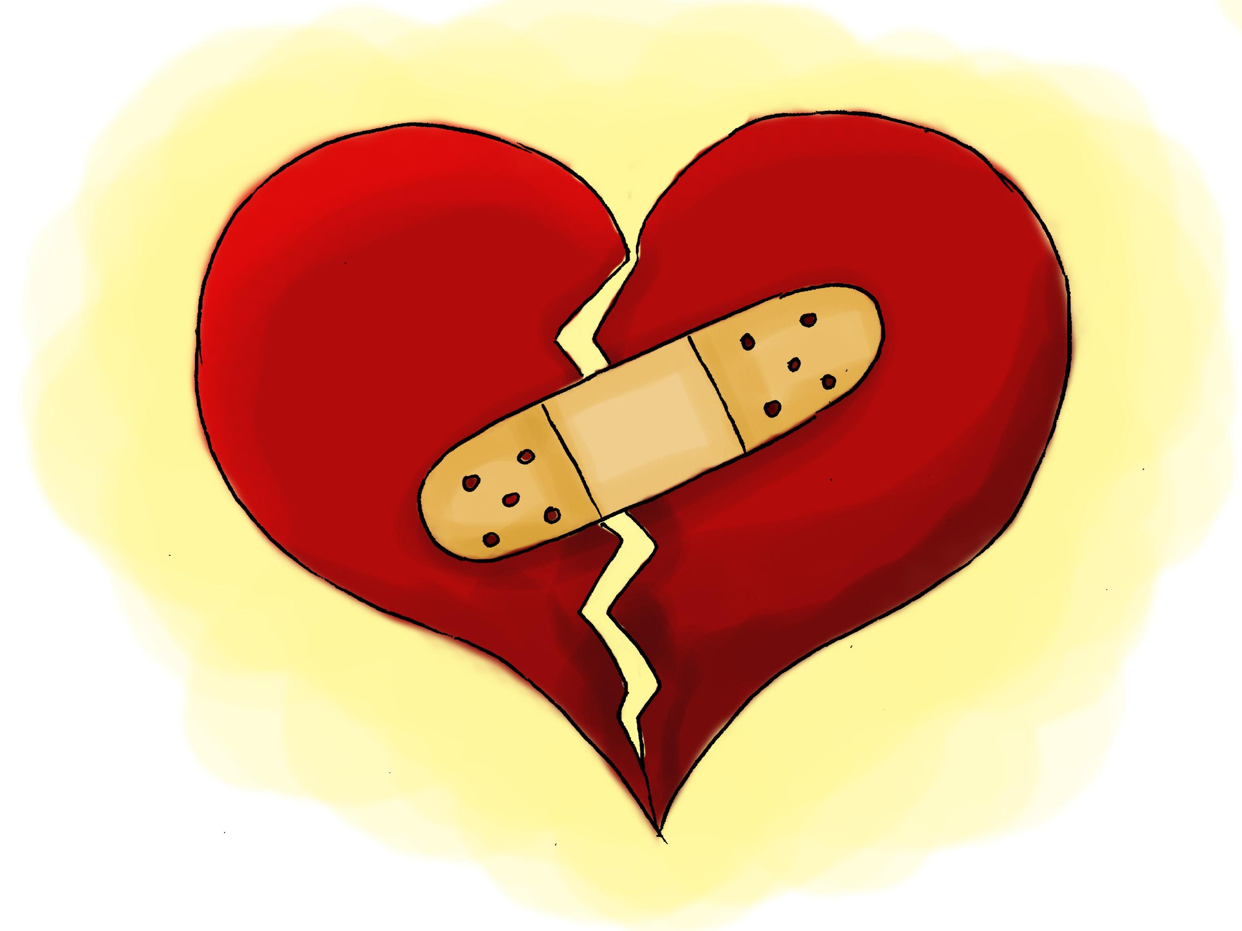 Heartbreak 1; Love 0