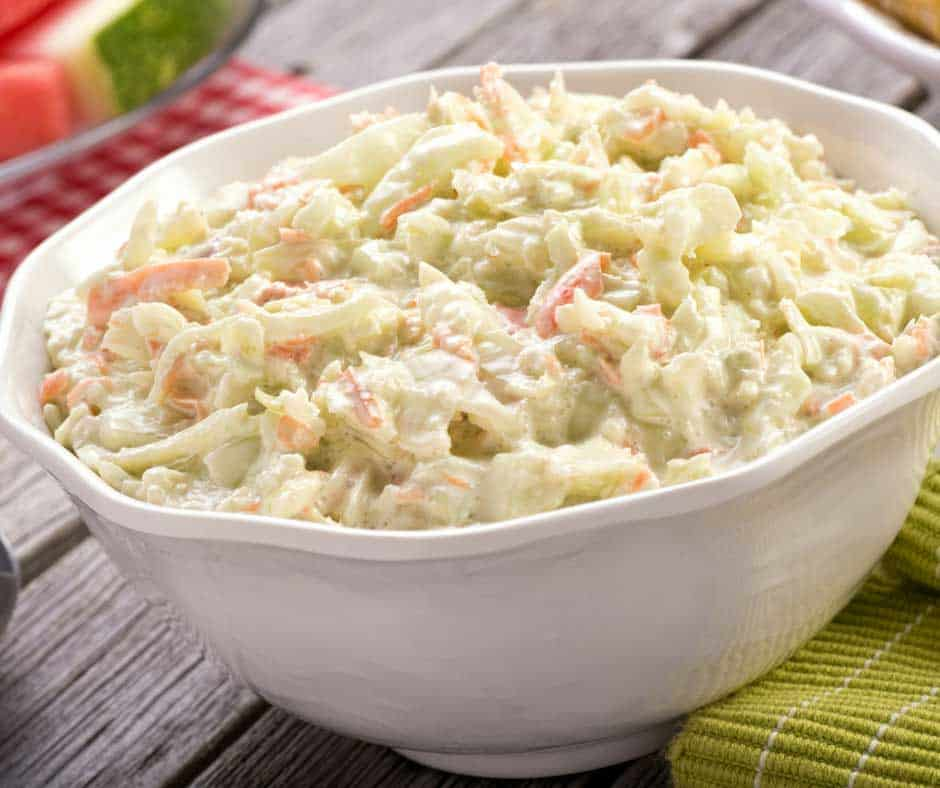 The Best Creamy Coleslaw Recipe! | So delicious and simple to make!