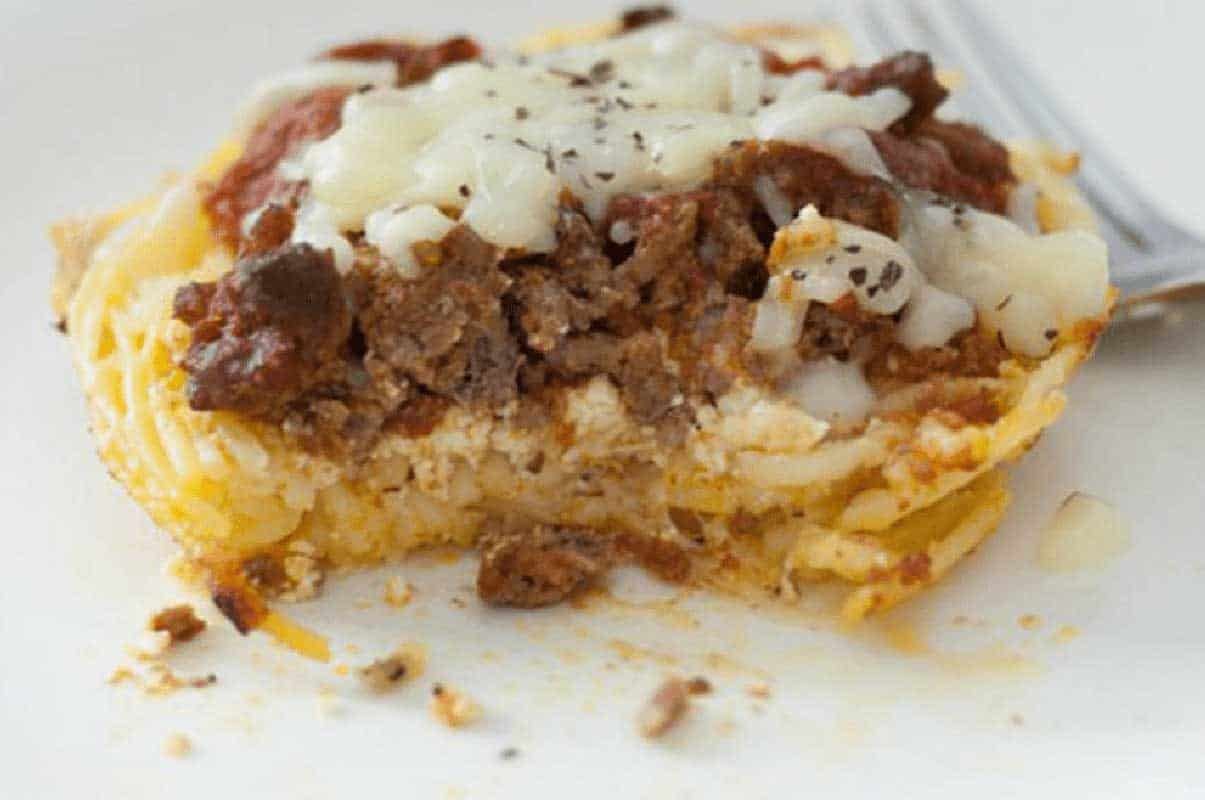 The Best Mini Spaghetti Pie Casserole You Can Make in 30 Minutes!