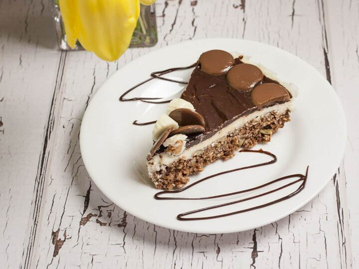 This Easy Nanaimo Bars Recipe is a Canadian Classic, that you make in layers. a No Bake recipe, you can make it ahead of time and even freeze it. You won't be able to resist these amazing treats. I know I can't!