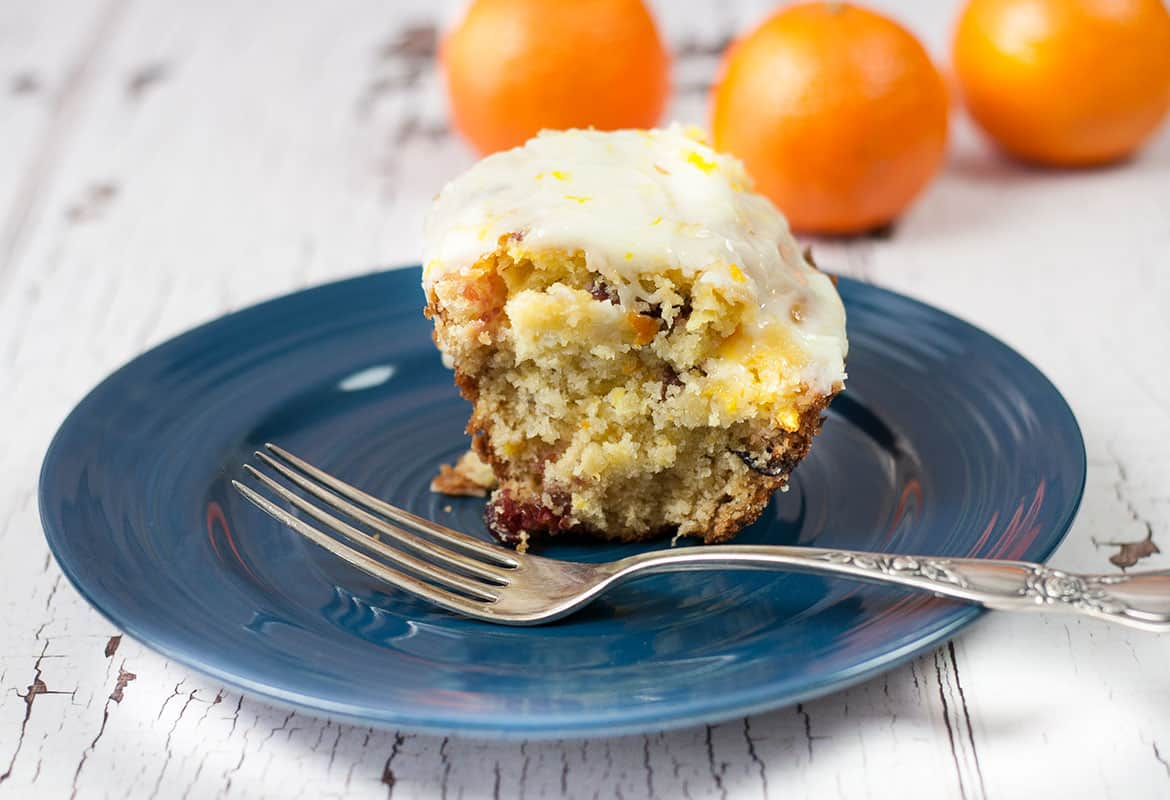 Delicious ORANGE CRANBERRY Cake Recipe