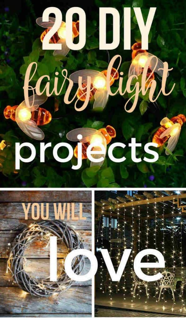 different fairy light projects