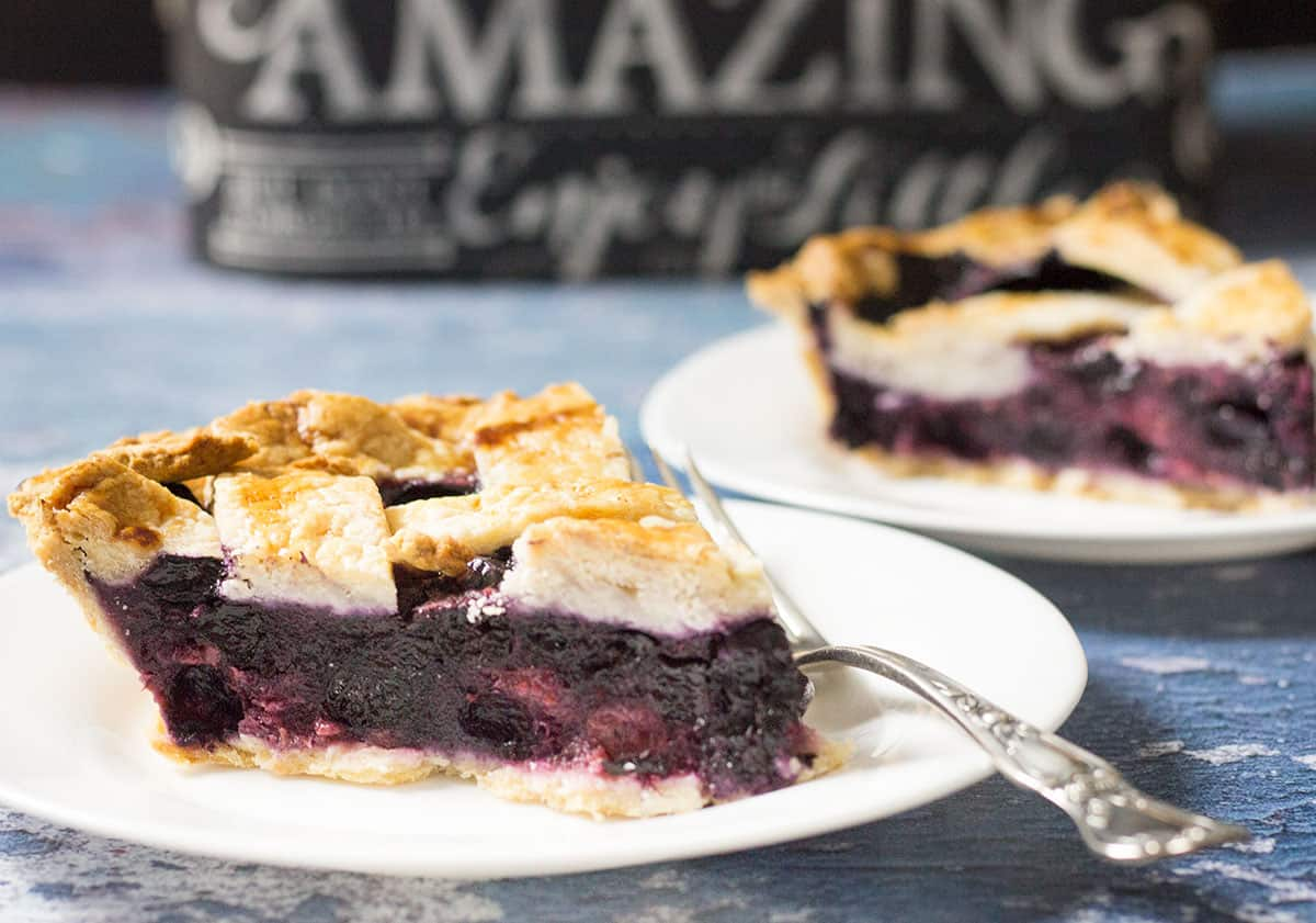EASY Razzleberry Pie Recipe {STEP BY STEP VIDEO!}