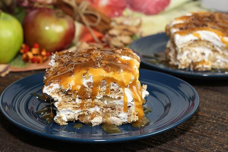 No-Bake Apple Pie Lasagna | You Will Love This Easy Recipe!