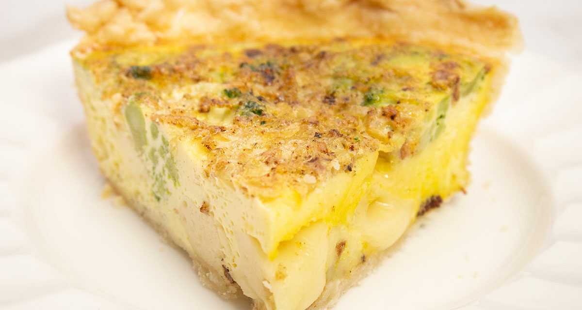 Broccoli Quiche For the Best Brunch Ever!