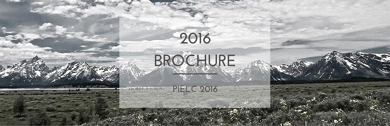 Pielc 2016 | Brochure