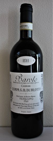 wow Burlotto cannubi 2011