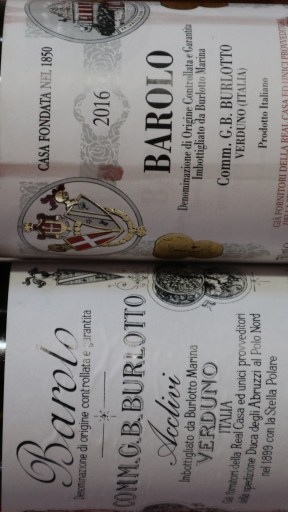 Burlotto Barolo 2016 and Burlotto Barolo Acclivi 2016