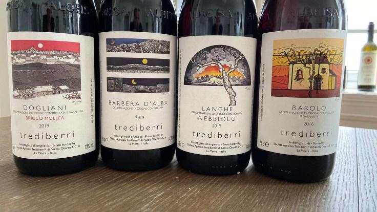 Trediberri Lineup, including the Trediberri Bricco Mollea