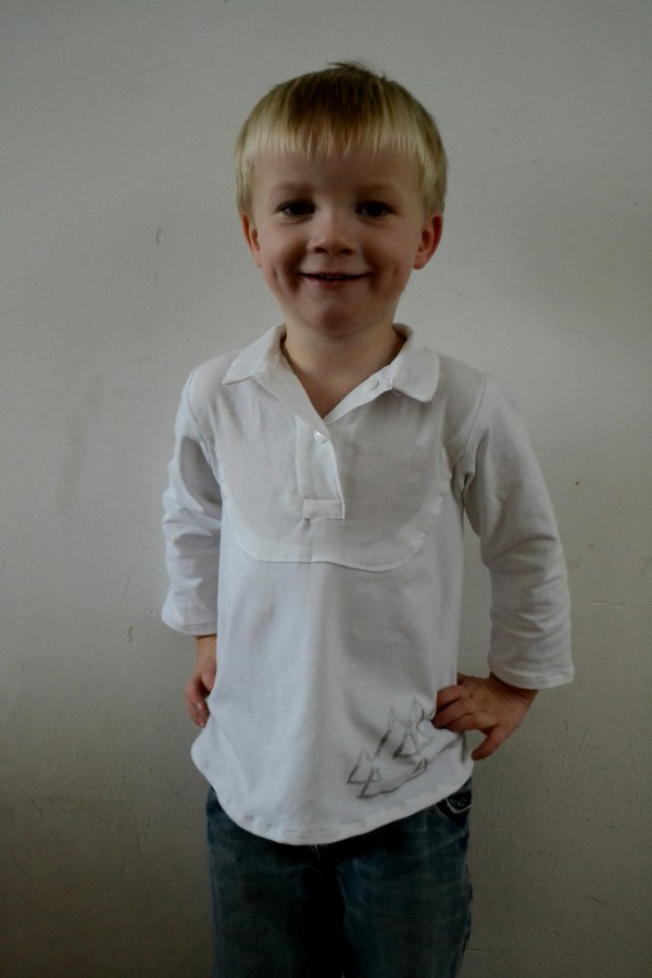The Name is Bond, Bond Top – Pattern Test for Boy Oh Boy Oh Boy!