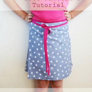 Free Wrap Skirt Pattern and Tutorial