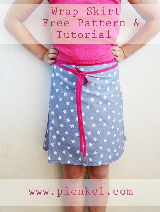 Wrap Skirt – Free Pattern & Tutorial