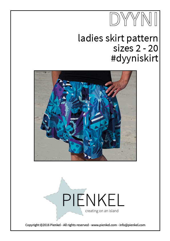 Dyyni Ladies – Skirt Pattern Release