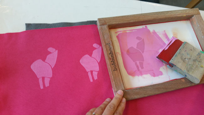 Pink Unicorns – BobbinHood Workshop at Amsterdam Sew Social