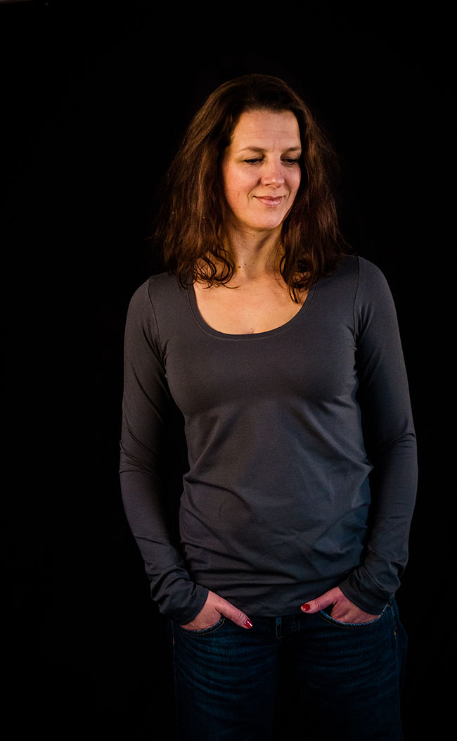 Plantain Shirt - Free pattern by Deer and Doe - Sewn by Pienkel