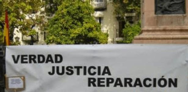 Por el derecho a Verdad, Justicia y Reparación. Martes 25 a las 18:30 horas
