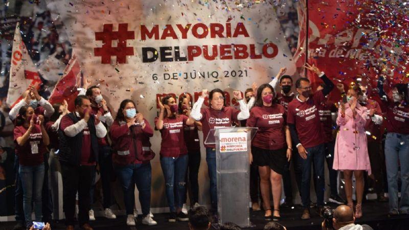 Morena se declara triunfador en 12 de 15 gubernaturas y prevé mantener la mayoría en San Lázaro
