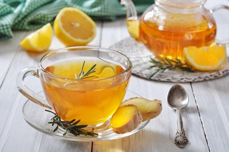 Zumo de jengibre y miel