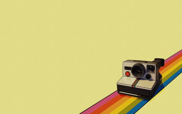 Camera Rainbow Instagram