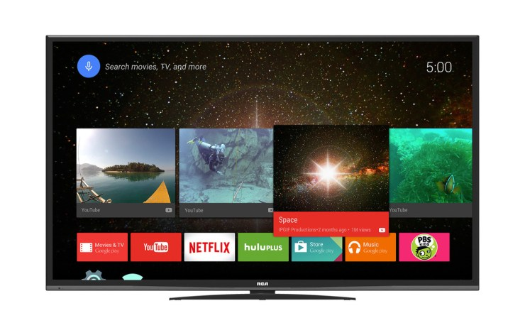 YouTube sugli Smart TV