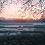 Sunrise over the Roman Fort