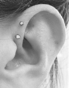 Front helix ear piercings also piercing chart types explained pain level price photo rh piercee