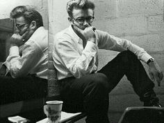 James Dean deep in thought