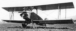 Kinner Airster biplane, the first airplane owned by Amelia Earhart.