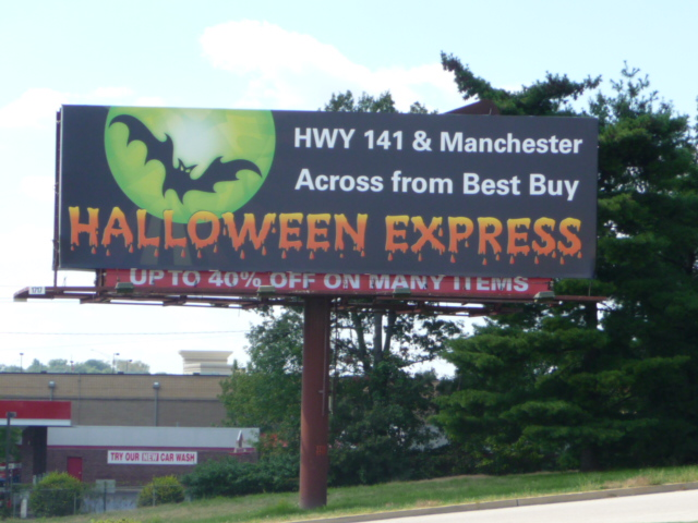 Billboard – Halloween Express