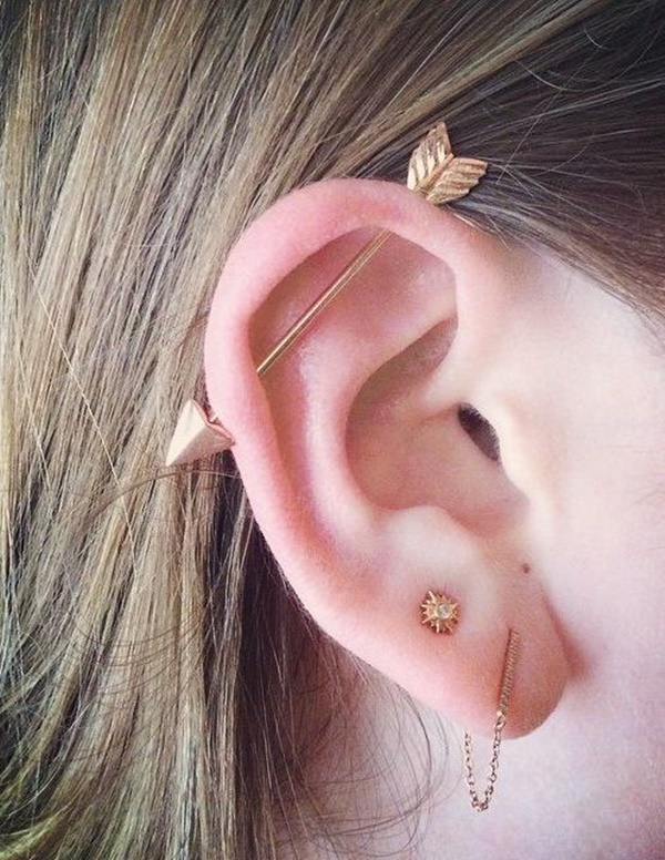 Industrial Piercing Jewelry Gold : industrial, piercing, jewelry, Classical, Wackier, Industrial, Piercing, Ideas