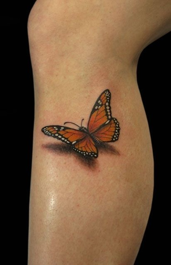 Black And White Butterfly Tattoo : black, white, butterfly, tattoo, Original, Butterfly, Tattoo, Designs, Every, Summer, Enthusiast