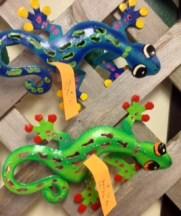 Henry and Henrietta the Geckos