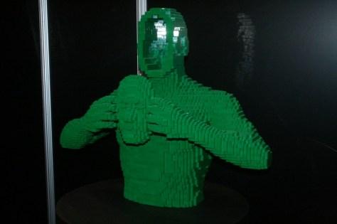 nathan sawaya, the art of the brick exhibit, lego sculpture