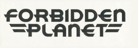 forbidden planet logo