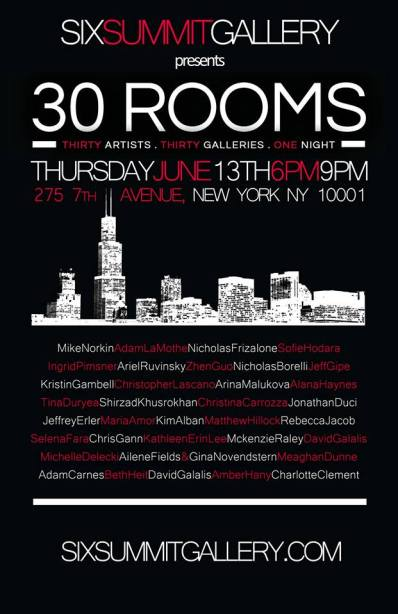 Poster - 30 Rooms