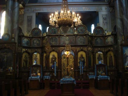 russian orthodox cathedral of the transfiguration of our lord, photo by ken pierce