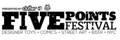 five points festival banner