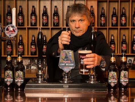 bruce dickinson, iron maiden beer, iron maiden, john mcmurtrie