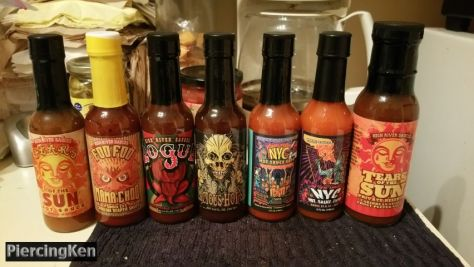 national hot sauce day, hot sauces