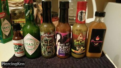 national hot sauce day, hot sauces
