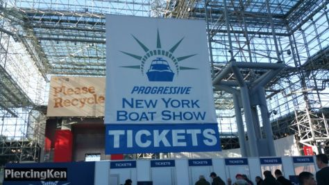 new york boat show, new york boat show 2018, photos from new york boat show 2018
