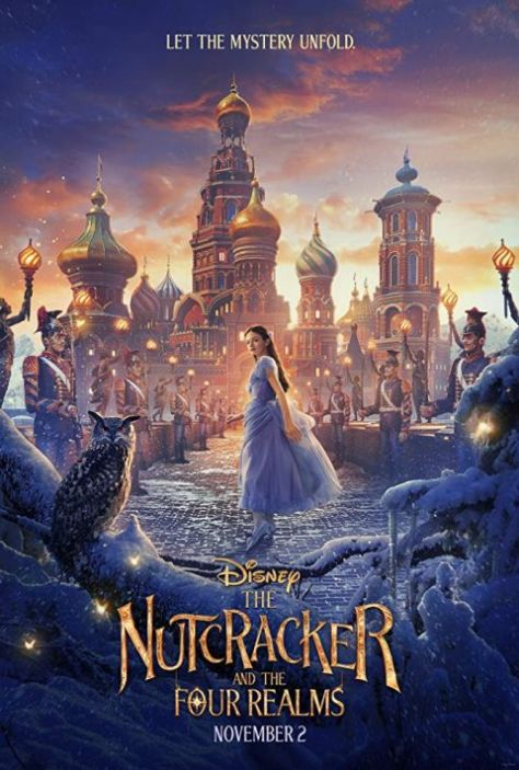 walt disney pictures, the nutcracker and the four realms, movie posters