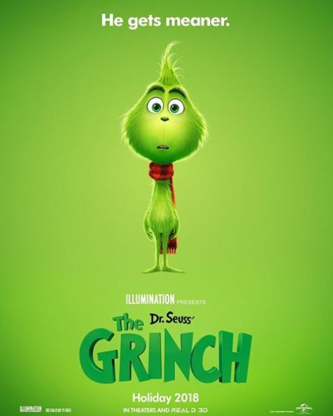 movie posters, the grinch
